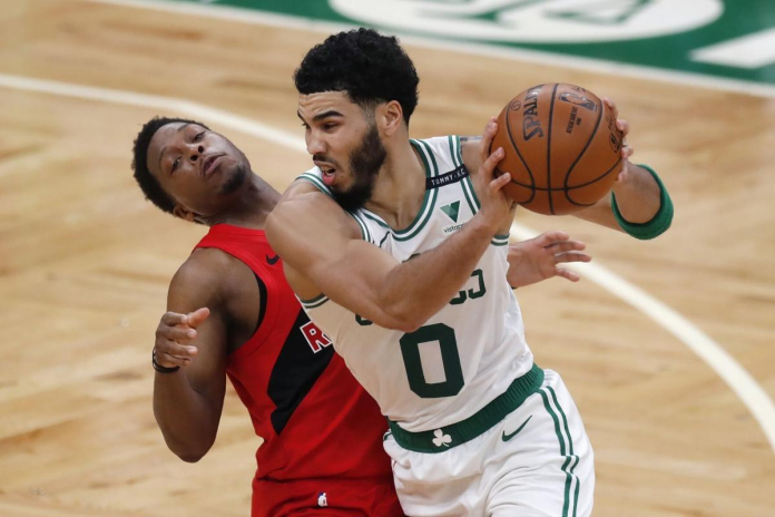 Toronto Raptors, Boston Celtics, Jayson Tatum, Kyle Lowry